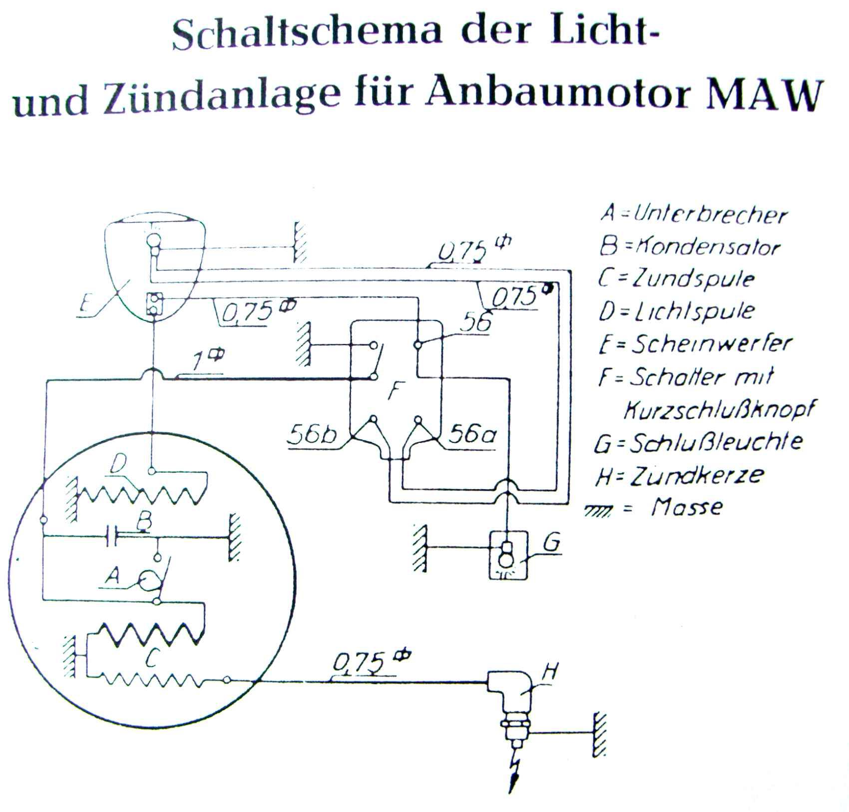 Zündung mit Licht Schaltplan – Freizeit-und-Technik.com